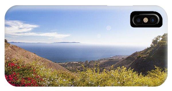 Overlooking Palos Verdes Estates IPhone Case