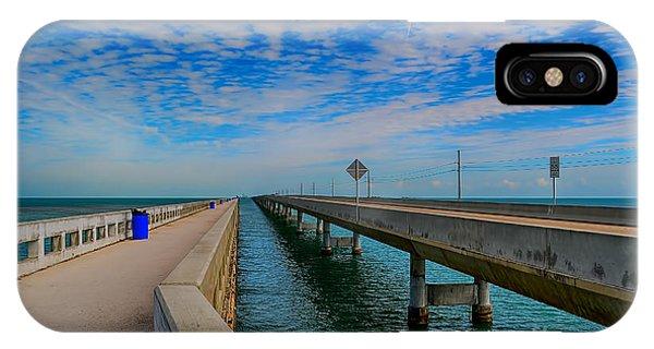 Overseas Highway Florida Keys IPhone Case