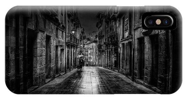 Alley iPhone Case - Oviedo by Jose C. Lobato