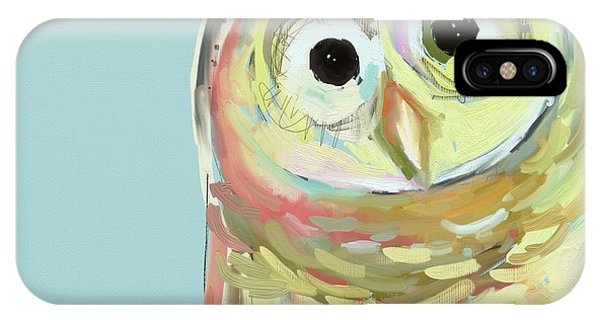Artwork iPhone Case - Owl #5 by Cathy Walters