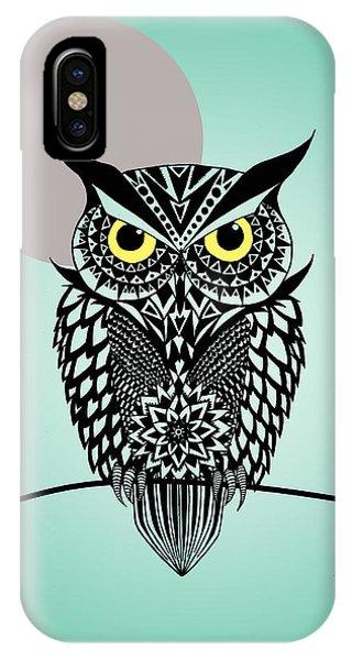 Owl 5 IPhone Case