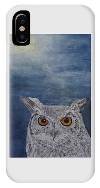 Owl By Moonlight IPhone Case