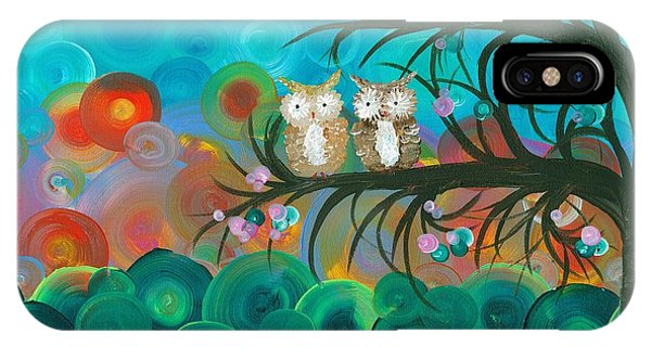Owl Couples - 02 IPhone Case