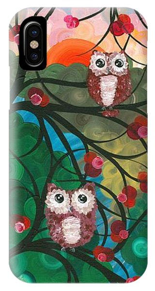 Owl Couples - 03 IPhone Case