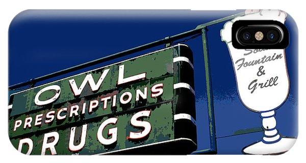 Owl Drugs  IPhone Case