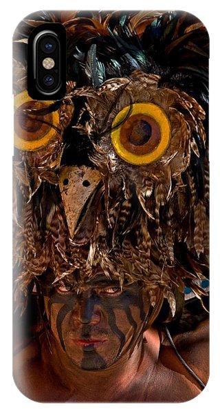 Owl Man IPhone Case