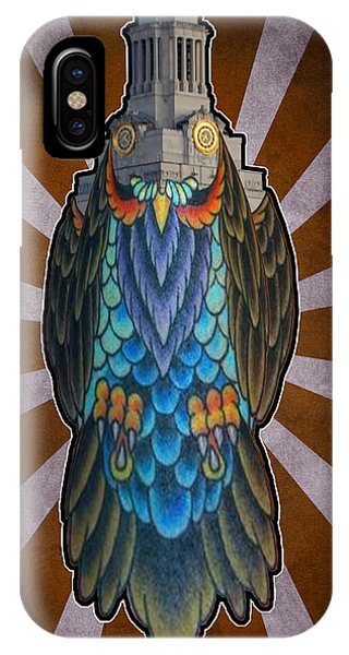 Owl Of The Tower IPhone Case