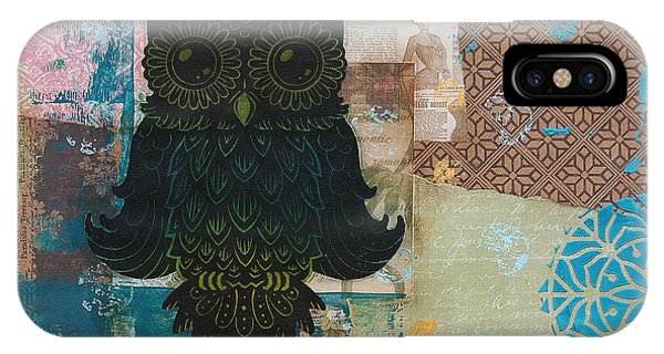 Owl Of Wisdom IPhone Case