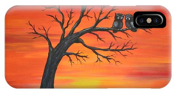 Owl Tell You Something IPhone Case
