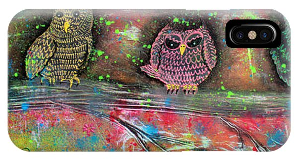 Owl Totem Phone Case by Laura Barbosa