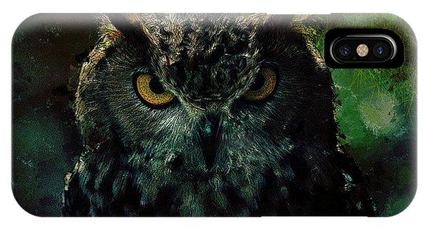 Owlish Tendencies IPhone Case