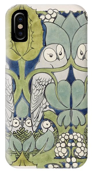 Owls, 1913 IPhone Case