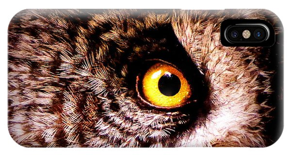Owl's Eye IPhone Case