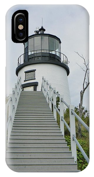 Owls Head Lighthouse IPhone Case