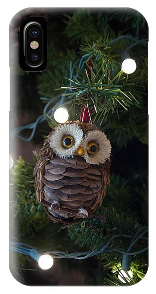 Owly Christmas IPhone Case