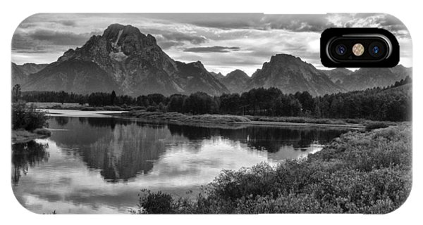 Oxbow Bend Dramatics IPhone Case