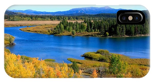 Oxbow Bend, Grand Teton National Park IPhone Case