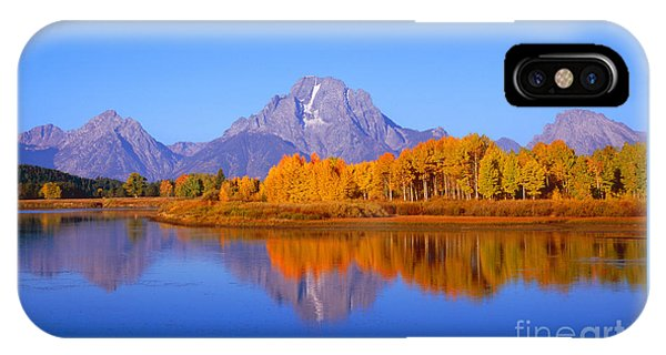 Oxbow Bend In Grand Teton IPhone Case
