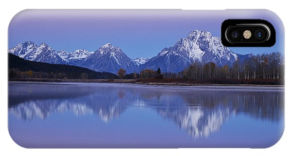 Oxbow Bend Sunrise 1 IPhone Case