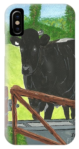 Oxleaze Bull IPhone Case