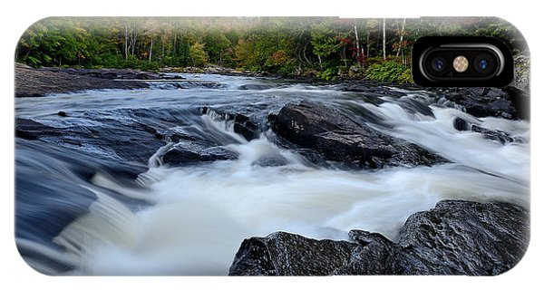 Oxtongue River Rapids Panoramic IPhone Case