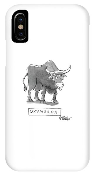 'oxymoron' IPhone Case