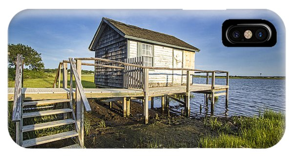 Oysterponds Creek Orient Ny IPhone Case