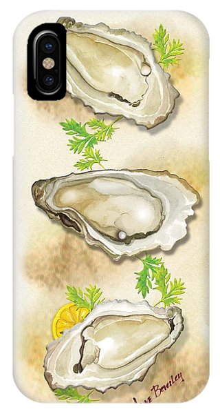 Oysters Three IPhone Case