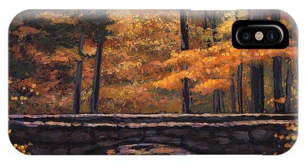 Foliage iPhone Case - Ozark Stream by Johnathan Harris