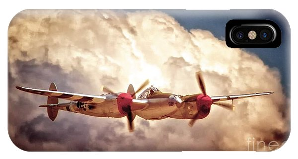 P-38 'dancin' With The Lightning' IPhone Case