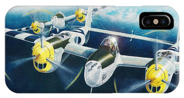 P-38 Lightnings IPhone Case