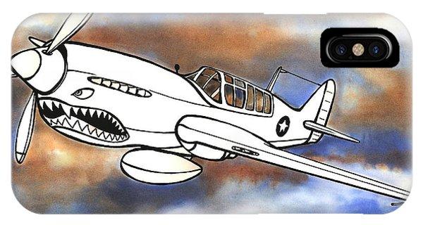 P-40 Warhawk 1 IPhone Case
