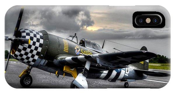 P-47 Sunset IPhone Case