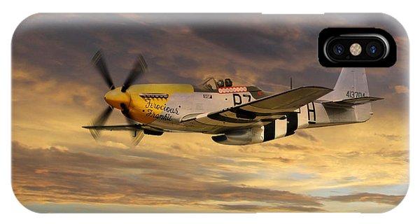 P-51 Ferocious Frankie IPhone Case