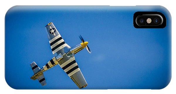 P-51 Invasion Stripes IPhone Case