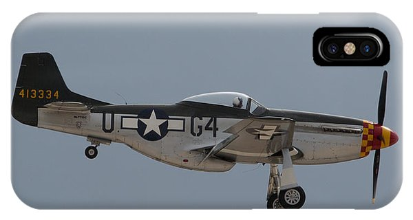 P-51 Landing Configuration IPhone Case