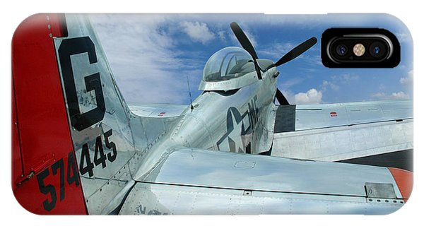 P-51 Mustang Pecos Bill IPhone Case