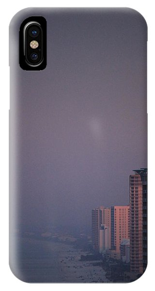 Panama City Beach In The Morning Mist IPhone Case