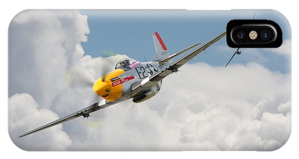 P51 Mustang And Me 262 IPhone Case