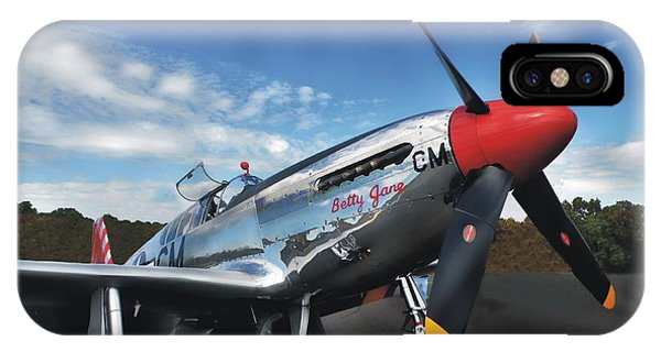 P-51 Mustang Betty Jane IPhone Case
