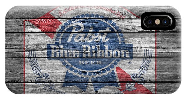 Pabst Blue Ribbon Beer IPhone Case