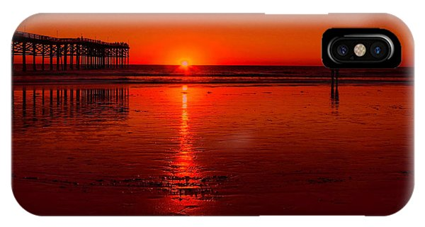 Pacific Beach Sunset IPhone Case