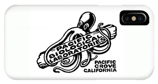Pacific Biological Laboratories Of Pacific Grove Circa 1930 IPhone Case
