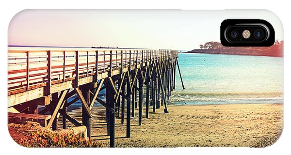 iPhone Case - Pacific Coast Highway Pier View II by Chris Andruskiewicz