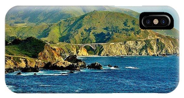 Pacific Coast Panorama IPhone Case