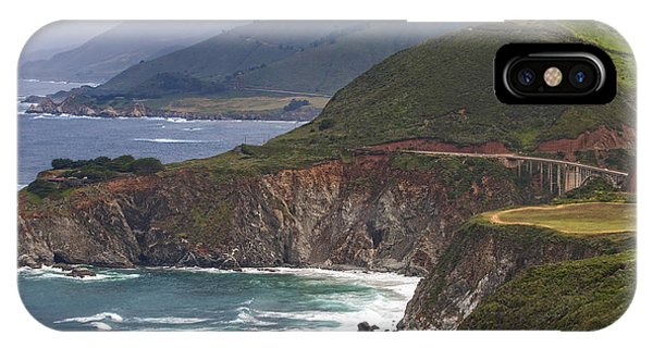 Pacific Coast View IPhone Case