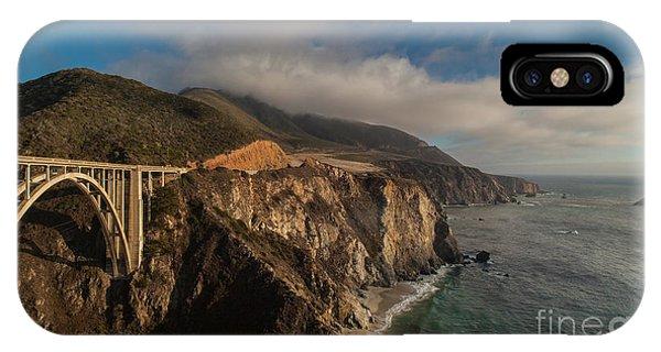 Pacific Coastal Highway IPhone Case