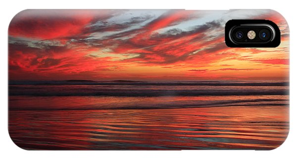Oceanside Reflections IPhone Case