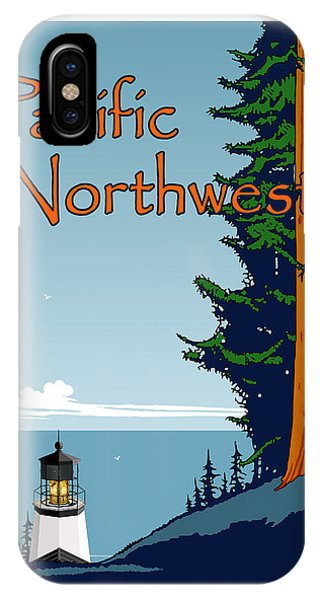 Pacific Ocean iPhone Case - Pacific Northwest by Kenneth Wilson