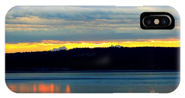 Port Townsend iPhone Case - Pacific Northwest Morning by Tap On Photo